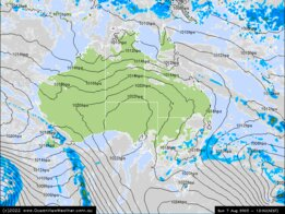GFS Forecast Charts For Australia