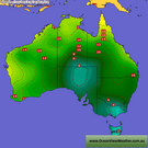 Australia and Queensland Weather Charts