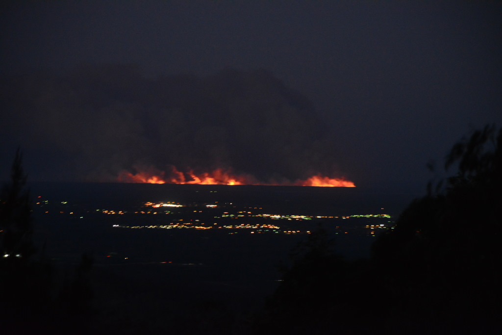 Bribie Island Fire 22nd August 6pm