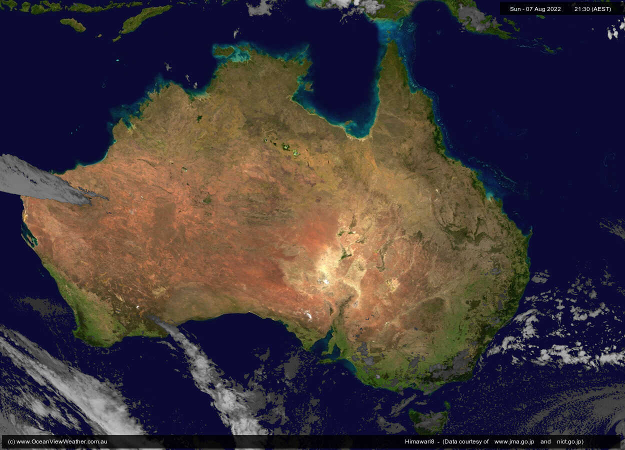 OceanViewWeather Himawari Satellite Images GeoStationary - World weather live satellite view