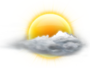 OceanView Weather Forecast  - Monday  - Partly Cloudy