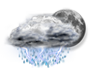 OceanView Weather Forecast  - Monday Night - Thunderstorm